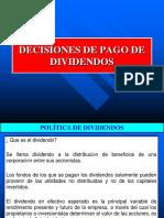 Decisiones de Pago de Dividendos