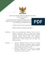 Permenkes Nomor 32 Tahun 2017 tentang Standar Baku Mutu Kesehatan Lingkungan dan Persyaratan Kesehatan Ait untuk Keperluan Higiene Sanitasi , Kolam Renang, Solus per Aqua dan Pemandian Umum.pdf