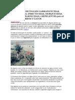 PLANTAS MEDICINALES GARRAPATICIDAS