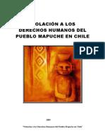 Derechos Humanos y Pueblo Mapuche en Chile