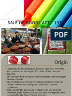 Sale of Goods Act-1930.16.18