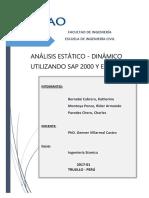 Modelamiento de Una Edificacion Utilizando Sap 2000 y Etabs