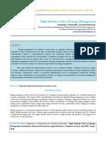 IAETSD-JARAS Triple Bottom Circle of Energy Management