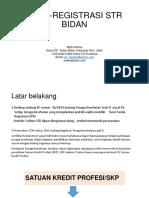 Re Registrasi Str Bidan