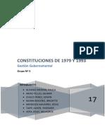 Constituciones de 1979 y 1993