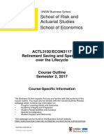 ECON3117 ACTL3192 Course Outline Part A