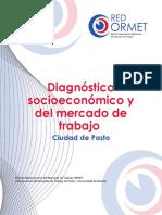 Diagnostico Socioeconómico de Trabajo en La Ciudad de Pasto