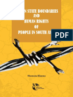 Nation State Boundaries and Human Rights of People in South Asia 1