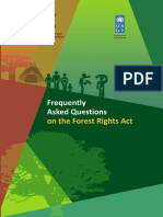 Frequently Asked Questions on the Forest Rights Act and its Implementation