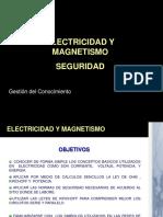 Electricidad y Magnetismo seguridad