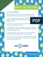 Lastminuteactivities Activity Wordcircle