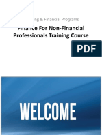 Finance for Non-Financial Professionals Training Course