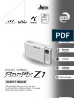Fujifilm FINEPIX Z1 Manual
