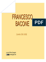 Francesco Bacone
