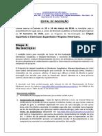 Edital Espanhol 2 2014 Final