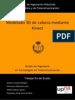 Modelado 3D de Cabeza Mediante Kinect