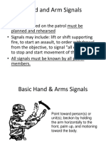 Lesson X_hand and Arm Signals