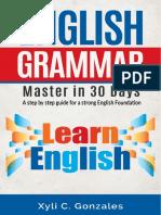 English Grammar - Master in 30 Days