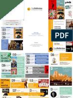 Aula Cultura de Murcia. Programación Septiembre-Diciembre 2017. Fundación Caja Mediterráneo