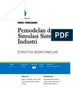 Modul 4 Struktur Dasar Simulasi