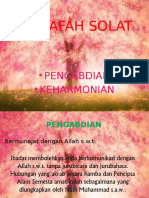 FALSAFAH SOLAT