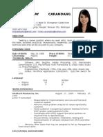 Resume May
