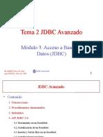 M3T2JDBC Avanzado