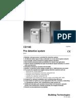 Siemens CS1140 Fire Detection System.pdf