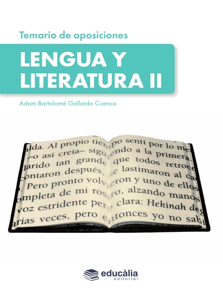 Muestra Tem Lengua Lit II PDF