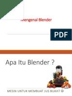 Pengenalan Blender