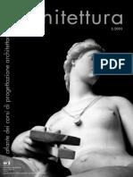 Firenze Architettura, numero 3 2003 - Atlante dei Corsi di Progettazione dell'Architettura