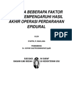 Analisa EDH Dr Syafril BARU