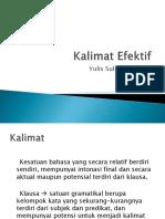 Kalimat Efektif(3)