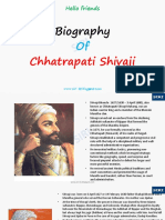 Shivaji chatrapathi biography
