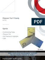 Polycom Trio Family Presentation