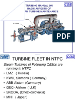 Training Manual Consepts of Steam Turbine Maintenance