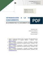 Introducción a la ingeniería concurrente David Juarez Varón, Carlos Guerrero Martínez, Elena Torres Roca, Victoria Sanz Buades