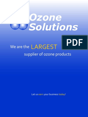 Solutions Ozone: Largest