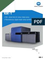 KM-1 Datasheet 300dpi