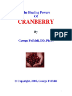 2006 - George Felfoldi - (eBook - Herbal, Health) - The Healing Powers Of CRANBERRY (2006).pdf