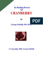2006 - George Felfoldi - (eBook - Herbal, Health) - The Healing Powers Of CRANBERRY (2006).pdf