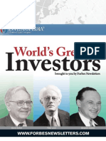 World's Greatest Investors