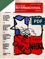 Revista Internacional - Nuestra Epoca N°1 - Edición Chilena - Enero 1984
