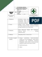 7.1.3.7 SOP Koordinasidan Komunikasi Antara Pendaftarandgn Unit Penunjang BBT 17