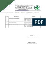 Program Kerja Kebersihan Lingkungan