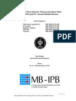 Sistem Informasi Pada PT. InHealth IndonesiaFINALmatrix