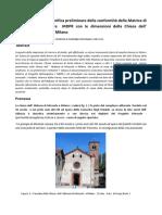 Geometria sacra   Verifica preliminare della conformità della matrice di progetto rettangolare MDPR con le dimensioni della chiesa dell' abbazia di Mirasole a Milano.pdf