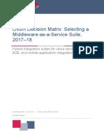 Cloud Middleware Hybrid Cloud Hc Vendor Comparison Matrix Gt612372usen 20170811