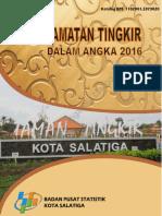 Kecamatan Tingkir Dalam Angka 2016
