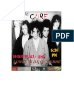 Afiche the Cure. Xiii
